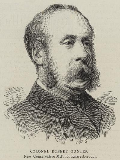 Colonel Robert Gunter--Giclee Print