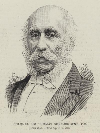 Colonel Sir Thomas Gore-Browne--Giclee Print