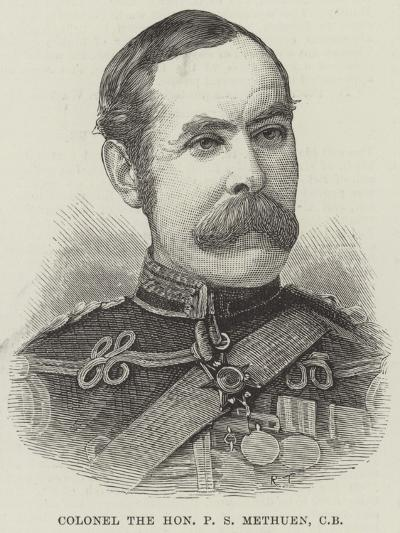 Colonel the Honourable P S Methuen--Giclee Print