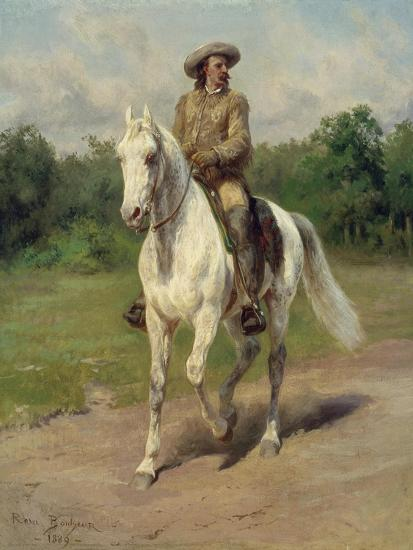 Colonel William F, Cody on Horseback, 1889-Maria-Rosa Bonheur-Giclee Print