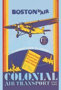 Colonial Air Transport - Boston by Air