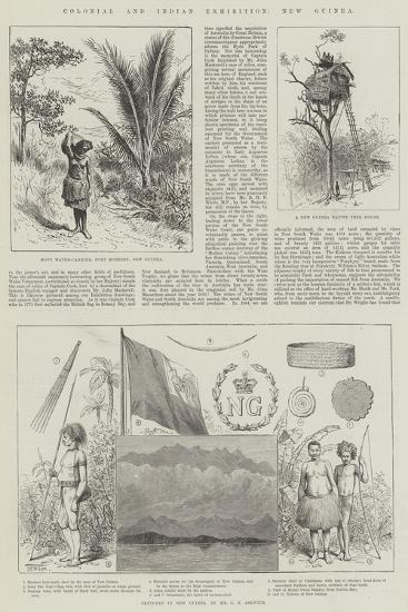 Colonial and Indian Exhibition, New Guinea--Giclee Print