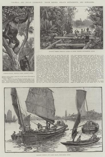 Colonial and Indian Exhibition, North Borneo, Straits Settlements, and Hong-Kong-William Heysham Overend-Giclee Print