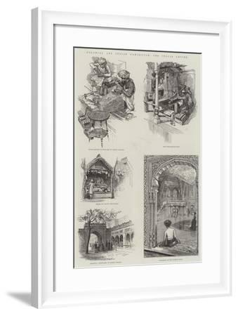 Colonial and Indian Exhibition, the Indian Empire- Warry-Framed Giclee Print