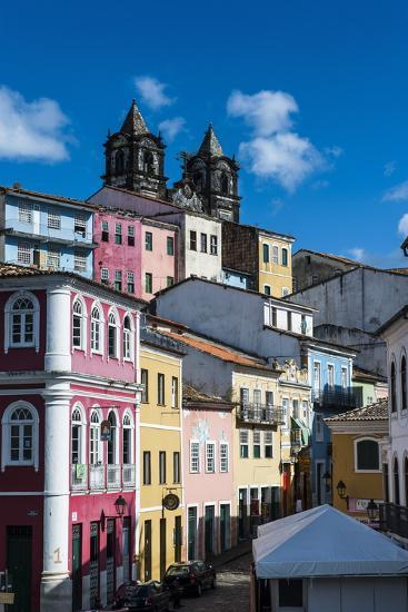 Colonial Architecture in the Pelourinho-Michael Runkel-Photographic Print