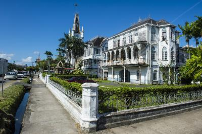 Colonial Building in Georgetown, Guyana, South America-Michael Runkel-Photographic Print