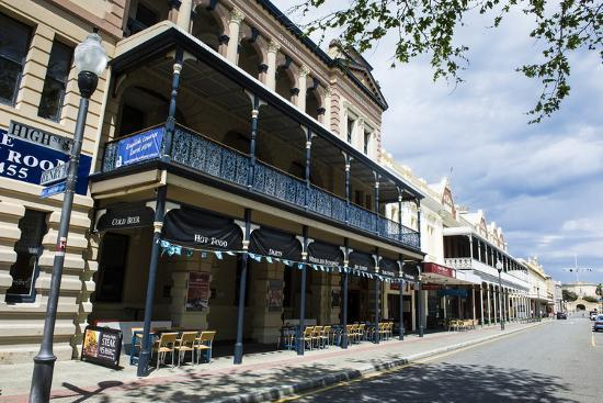 Colonial Buildings in Downtown Fremantle, Western Australia, Australia, Pacific-Michael Runkel-Photographic Print