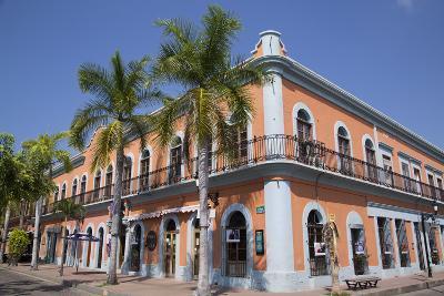 Colonial Buildings, Near Machado Square, Mazatlan, Sinoloa State, Mexico, North America-Richard Maschmeyer-Photographic Print