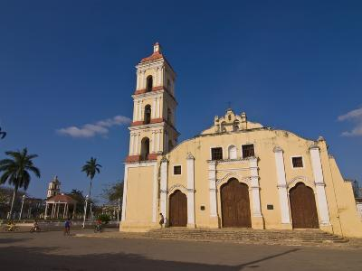 Colonial Church in Remedios, Cuba, West Indies, Caribbean, Central America--Photographic Print