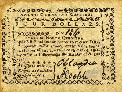Colonial Currency--Giclee Print