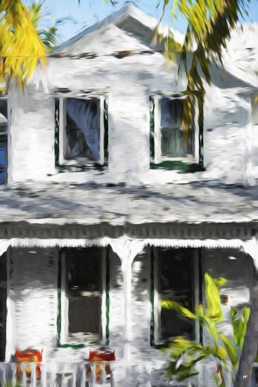 Colonial House V - In the Style of Oil Painting-Philippe Hugonnard-Giclee Print