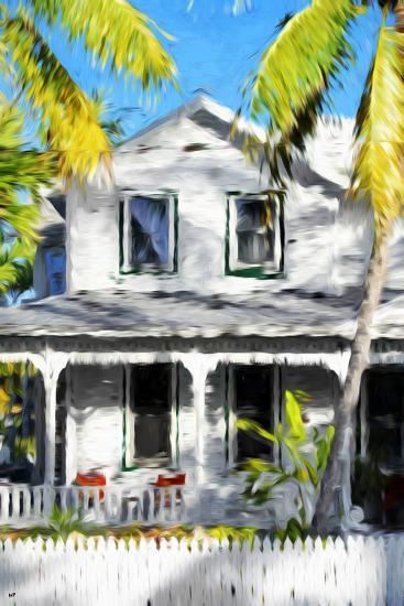 Colonial House VI - In the Style of Oil Painting-Philippe Hugonnard-Giclee Print