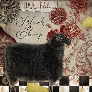 Baa Baa Black Sheep by Color Bakery