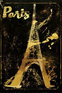 Gold Eiffel by Color Bakery