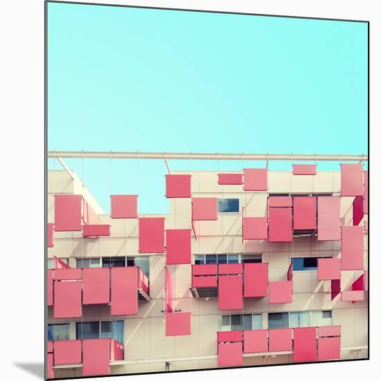 Color Blocking-Matt Crump-Mounted Premium Photographic Print
