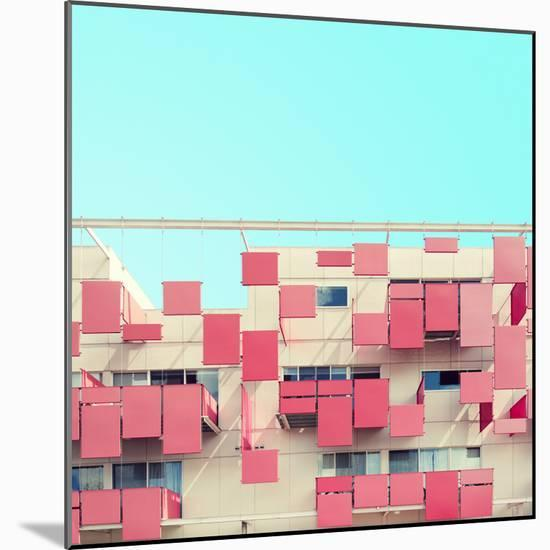 Color Blocking-Matt Crump-Mounted Photographic Print