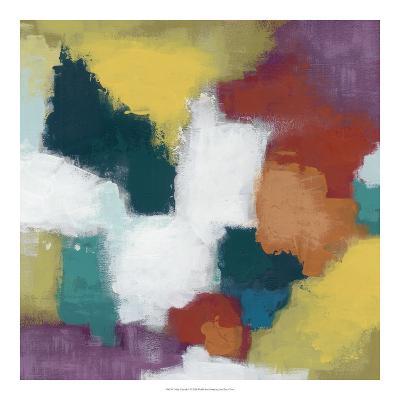 Color Cascade I-June Erica Vess-Giclee Print