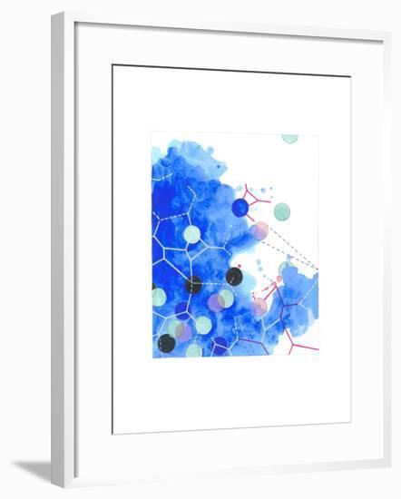 Color Chaos 2-Natasha Marie-Framed Giclee Print