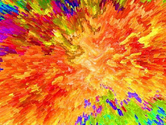 Color Detonation-Ruth Palmer 3-Art Print