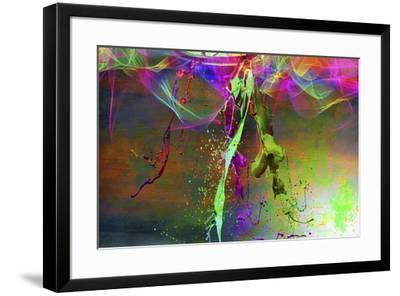 Color Explosion V7-Ata Alishahi-Framed Giclee Print