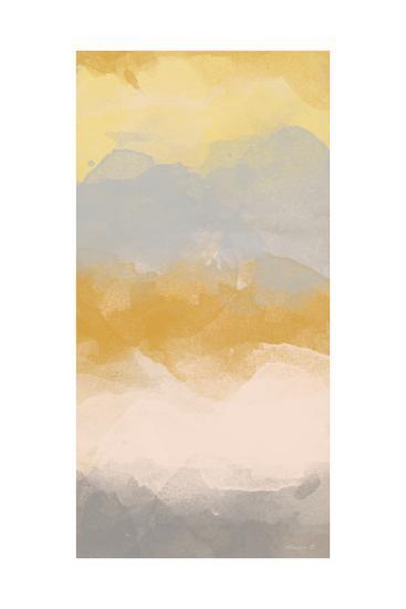 Color Fall I-Alonzo Saunders-Art Print