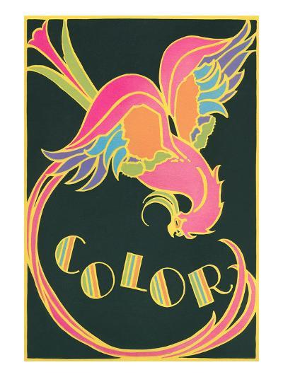 Color, Fantastic Bird--Art Print