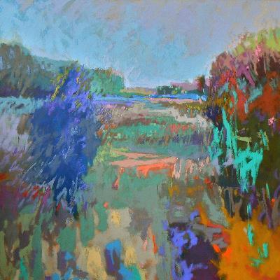 Color Field 45-Jane Schmidt-Art Print