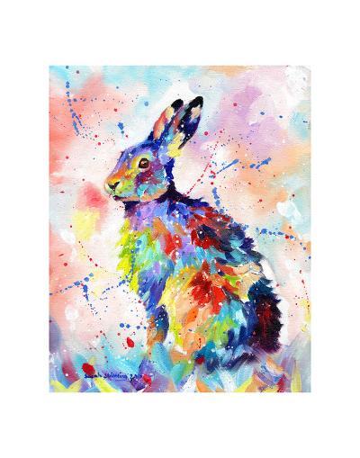 Color Hare-Sarah Stribbling-Art Print