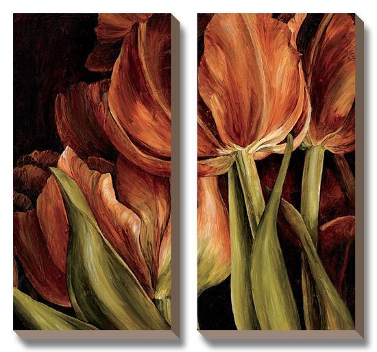 Color Harmony I-Linda Thompson-Canvas Art Set