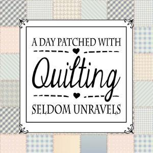 A Day Patched With Quilting - Square Patchwork by Color Me Happy