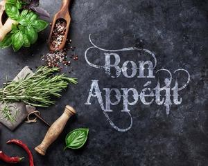 Bon Appetit Herbs and Spices by Color Me Happy