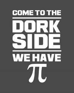 Come To The Dork Side Gray by Color Me Happy
