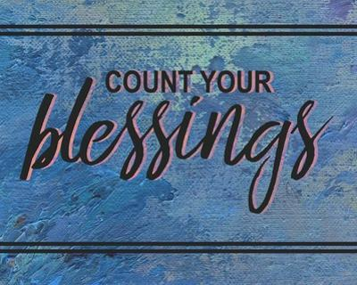 Count Your Blessing-Blue
