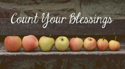 Count Your Blessings Apples
