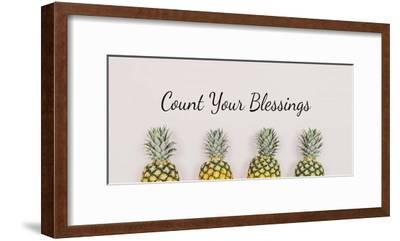 Count Your Blessings Pineapples