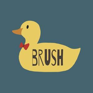 Duck Family Boy Brush by Color Me Happy
