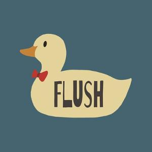 Duck Family Boy Flush by Color Me Happy
