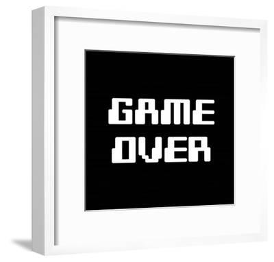 Game Over - Black