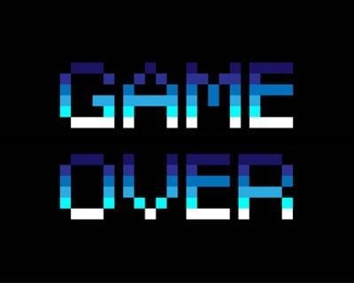 Game Over - Blue