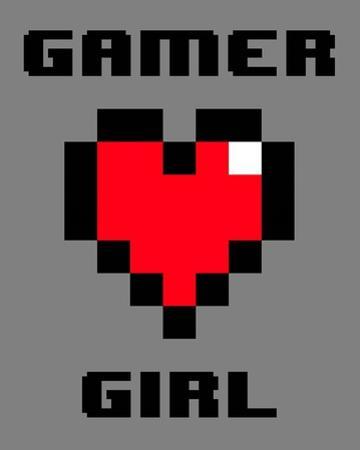 Gamer Girl - Gray