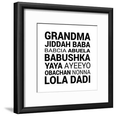 Grandma Various languages