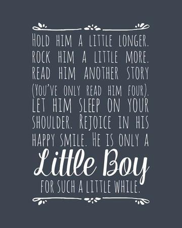 Hold Him A Little Longer - Blue