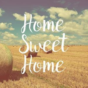 Home Sweet Home Bales of Hay by Color Me Happy