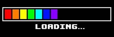 Loading -Rainbow by Color Me Happy