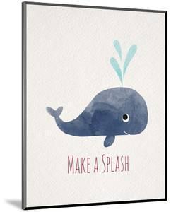 Make a Splash Whale White by Color Me Happy