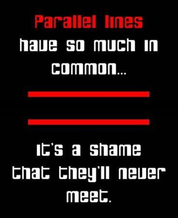Math Joke - Black and Red