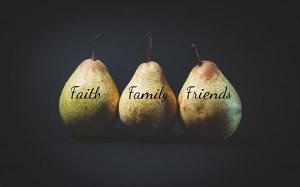 Pears - Faith Family Friends by Color Me Happy