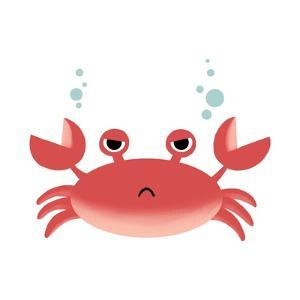Sea Creatures - Crab by Color Me Happy