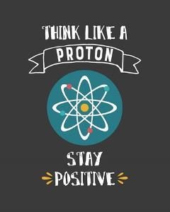 Think Like A Proton Gray by Color Me Happy