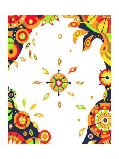 Color Melody: Strong Sunshine of Summer Vitality and Power of Life-Kyo Nakayama-Giclee Print